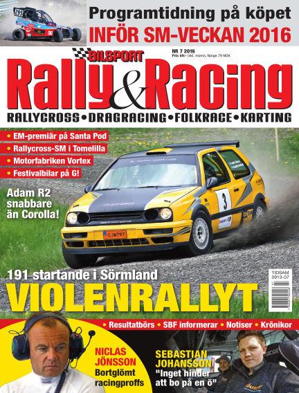 Bilsport Rally & Racing June 22, 2016 00:00