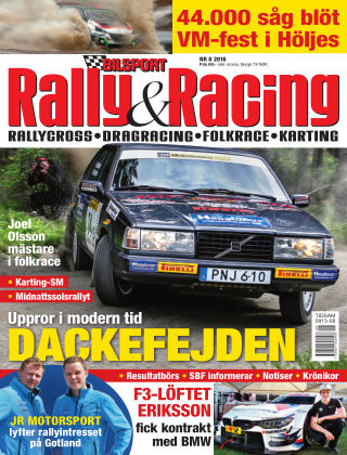 Bilsport Rally & Racing 2016-07-28