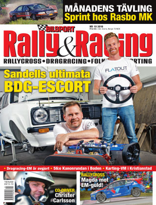 Bilsport Rally & Racing 2016-09-29