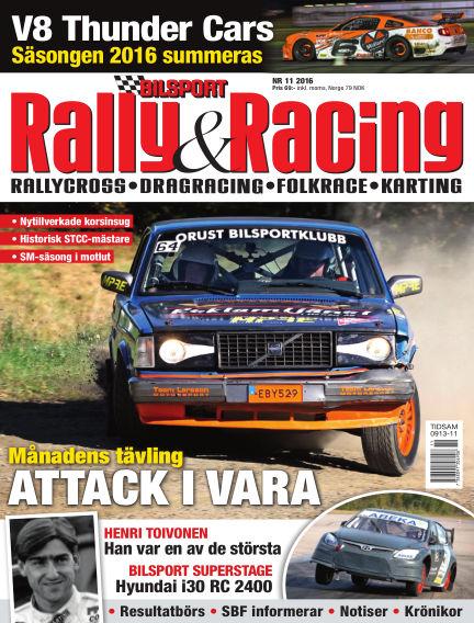 Bilsport Rally & Racing October 27, 2016 00:00