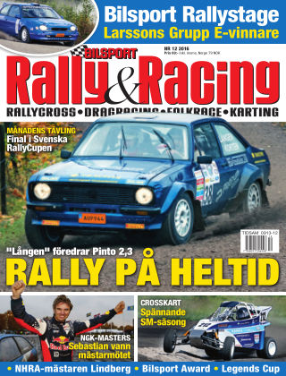 Bilsport Rally & Racing 2016-11-24
