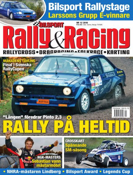 Bilsport Rally & Racing November 24, 2016 00:00