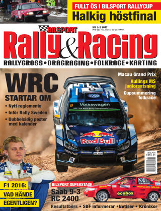 Bilsport Rally & Racing 2016-12-22