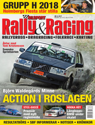 Bilsport Rally & Racing 2017-06-01