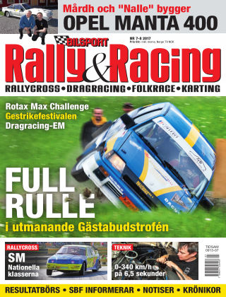 Bilsport Rally & Racing 2017-06-29