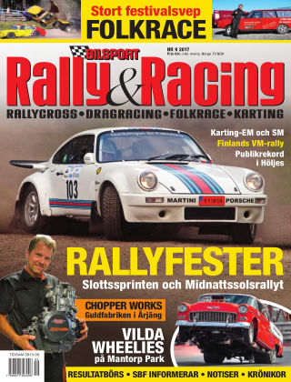 Bilsport Rally & Racing 2017-08-31
