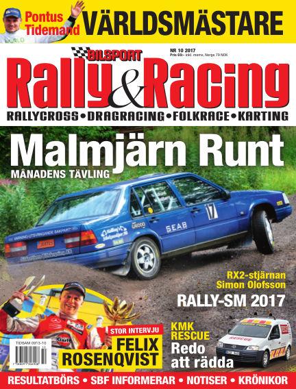 Bilsport Rally & Racing September 28, 2017 00:00
