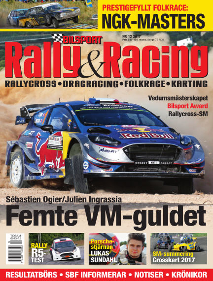 Bilsport Rally & Racing November 23, 2017 00:00