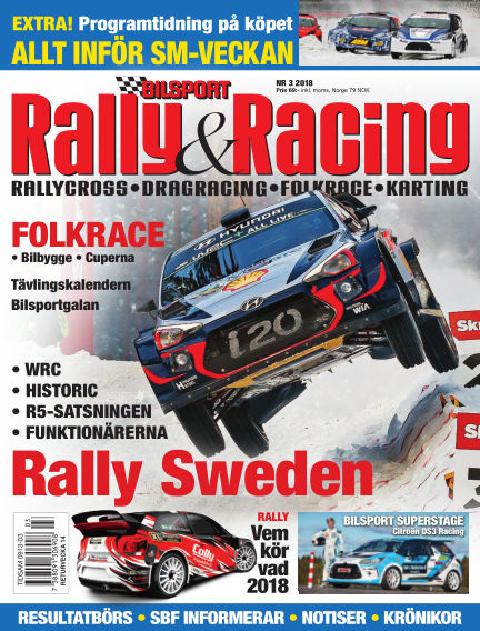 Bilsport Rally & Racing March 06, 2018 00:00