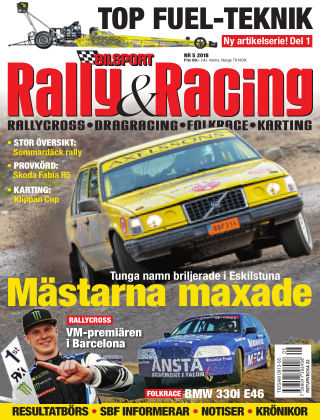 Bilsport Rally & Racing 2018-05-03