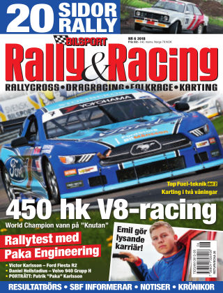 Bilsport Rally & Racing 2018-05-31