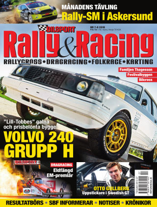 Bilsport Rally & Racing 2018-06-28