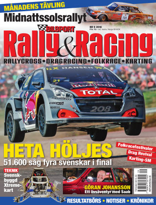 Bilsport Rally & Racing 2018-08-30