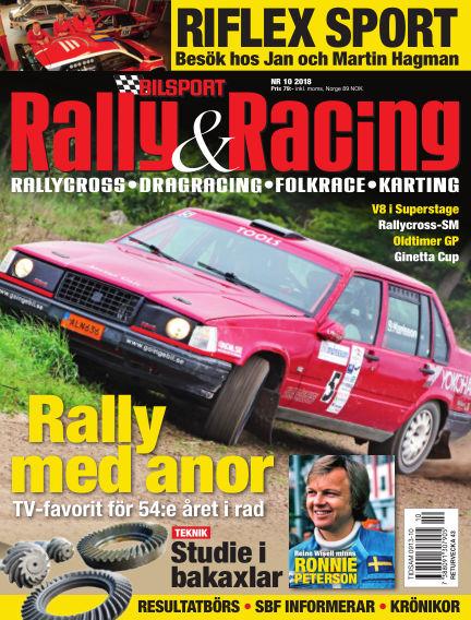 Bilsport Rally & Racing September 27, 2018 00:00