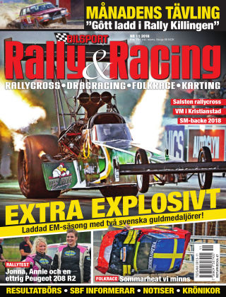 Bilsport Rally & Racing 2018-10-25