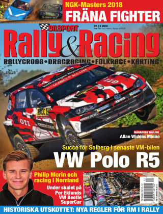 Bilsport Rally & Racing 2018-11-22
