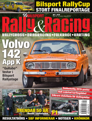 Bilsport Rally & Racing 2018-12-20
