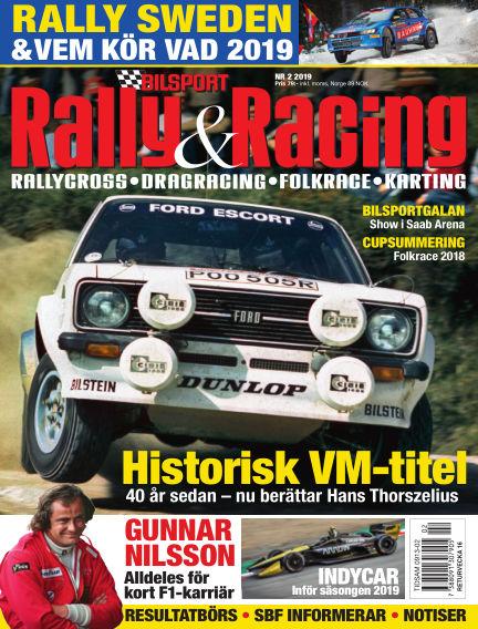 Bilsport Rally & Racing March 07, 2019 00:00