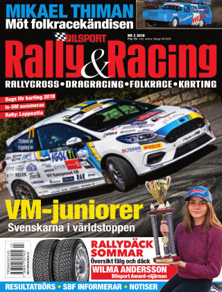 Bilsport Rally & Racing 2019-04-18