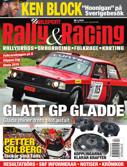 Bilsport Rally & Racing May 23, 2019 00:00