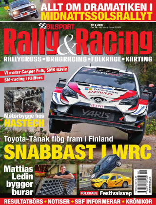 Bilsport Rally & Racing 2019-08-22