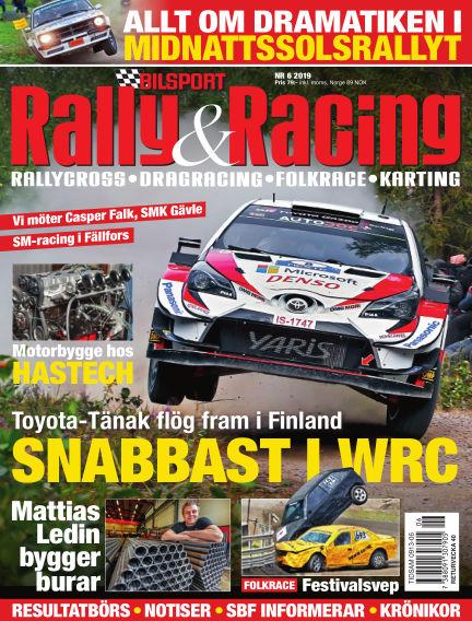 Bilsport Rally & Racing August 22, 2019 00:00