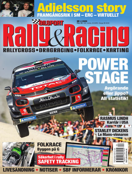 Bilsport Rally & Racing May 20, 2020 00:00