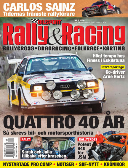 Bilsport Rally & Racing June 25, 2020 00:00