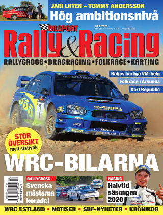 Bilsport Rally & Racing 2020-10-01