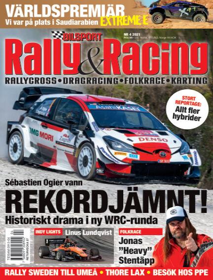 Bilsport Rally & Racing May 27, 2021 00:00