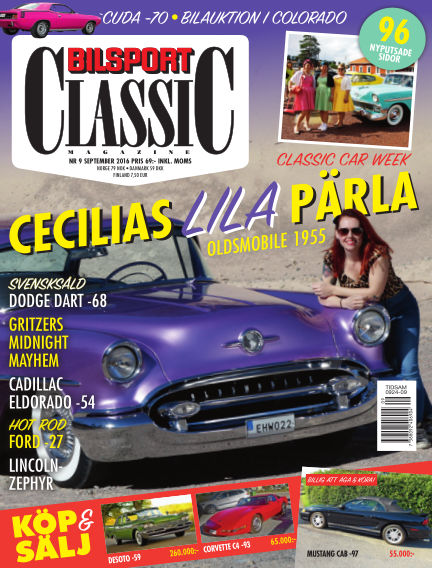 Bilsport Classic August 30, 2016 00:00