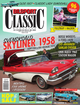 Bilsport Classic 2016-09-27