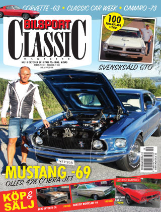 Bilsport Classic 2018-09-25