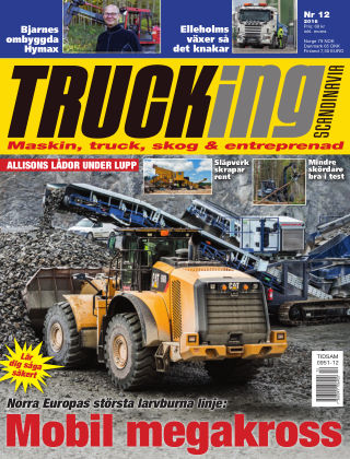 Trucking Scandinavia 2016-11-08