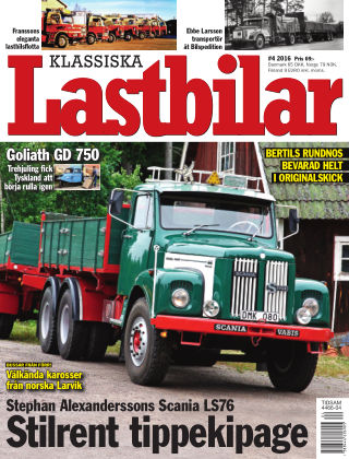 Klassiska Lastbilar 2016-06-14