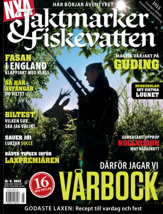 Jaktmarker & Fiskevatten 2013-05-17
