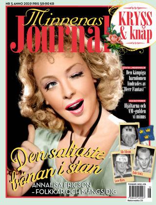 Minnenas Journal 2019-05-02