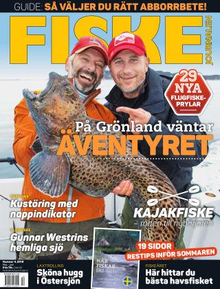 Fiskejournalen 2018-04-24