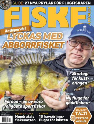 Fiskejournalen 2019-04-18