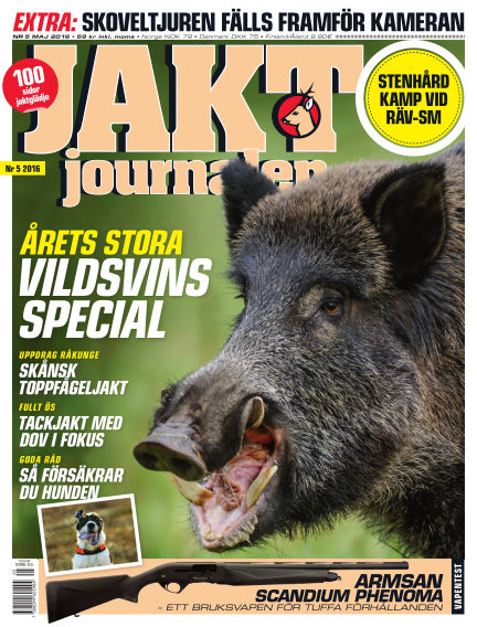 Jaktjournalen April 26, 2016 00:00