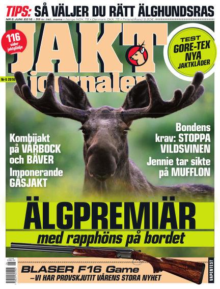 Jaktjournalen May 26, 2016 00:00