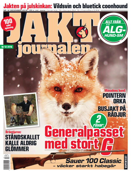 Jaktjournalen November 22, 2016 00:00