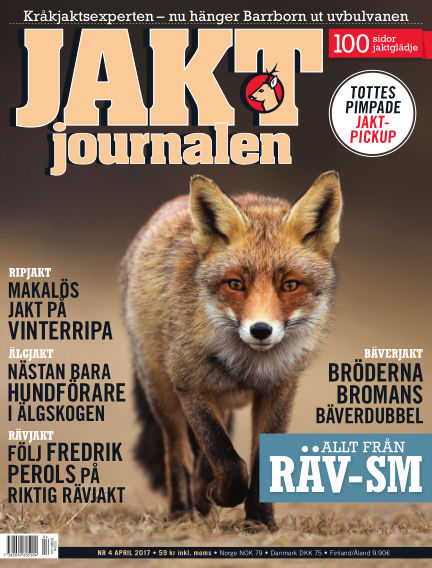 Jaktjournalen March 21, 2017 00:00