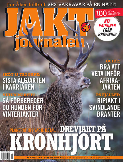 Jaktjournalen February 22, 2018 00:00