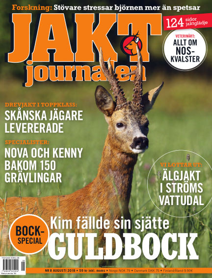 Jaktjournalen August 02, 2018 00:00