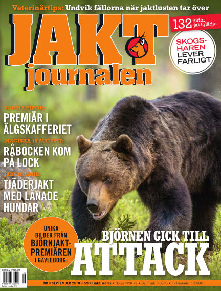 Jaktjournalen August 23, 2018 00:00