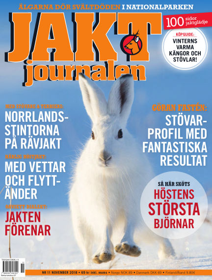 Jaktjournalen October 25, 2018 00:00
