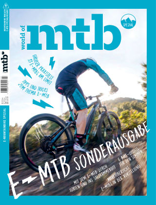 world of mtb Magazin E-MTB N°2.18
