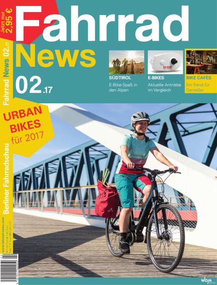 Fahrrad News April 13, 2017 00:00