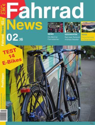 Fahrrad News 02.16